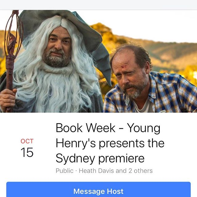 Book now for Book Week Sydney premiere here https://www.dendy.com.au/events/young-henrys-presents-book-week #sydney @younghenrys