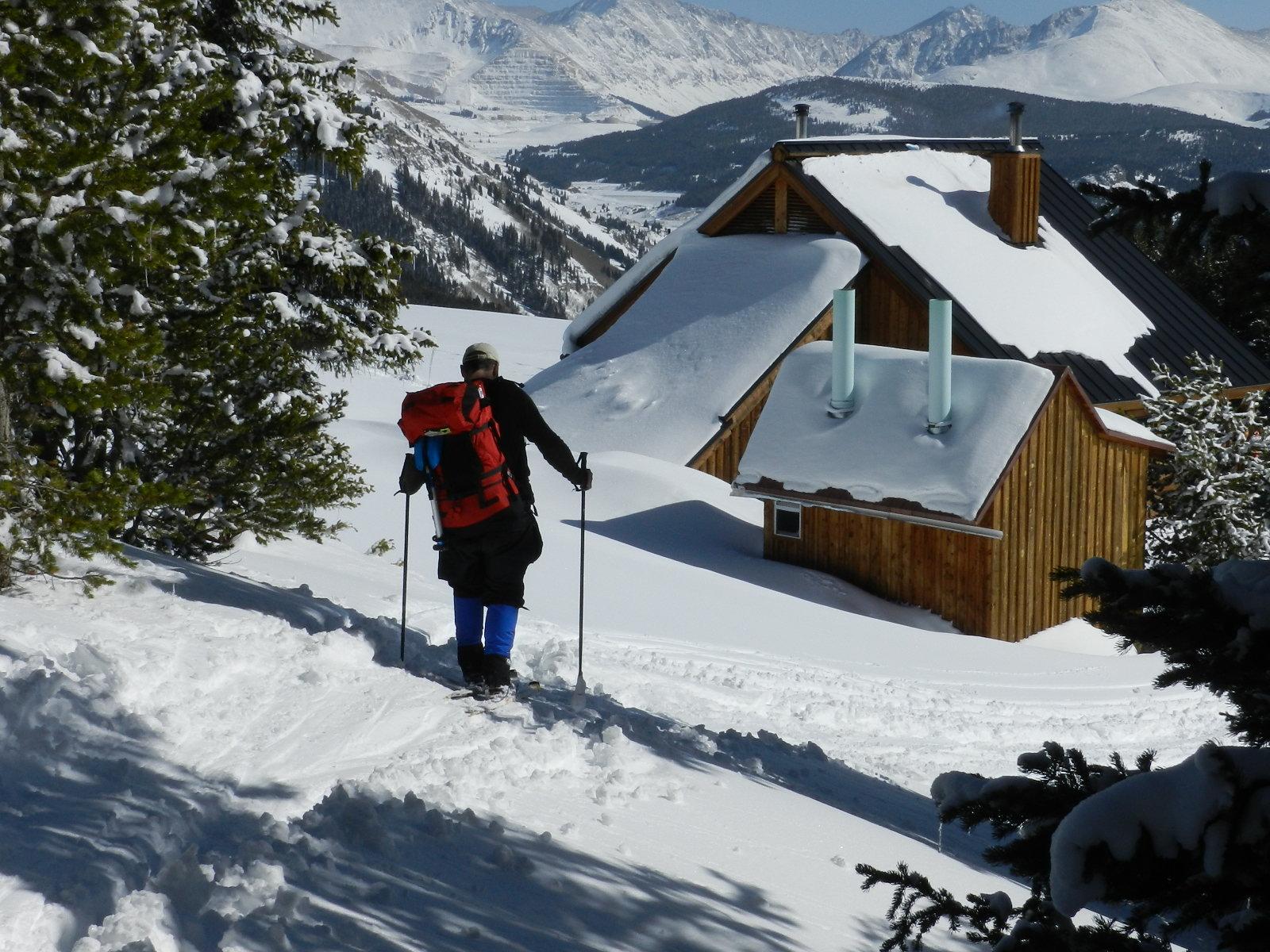 Approaching the Jackal Hut