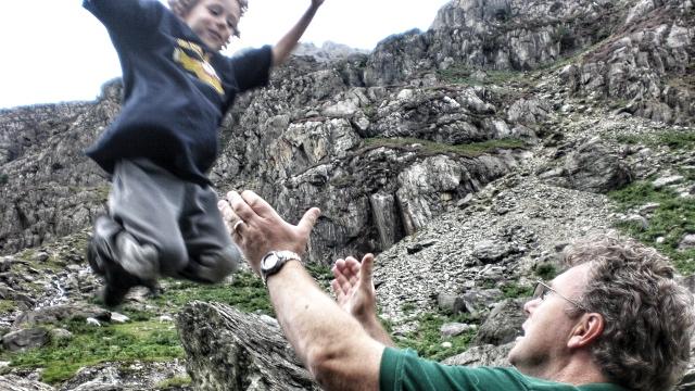 Dinas Cromlech Boulders