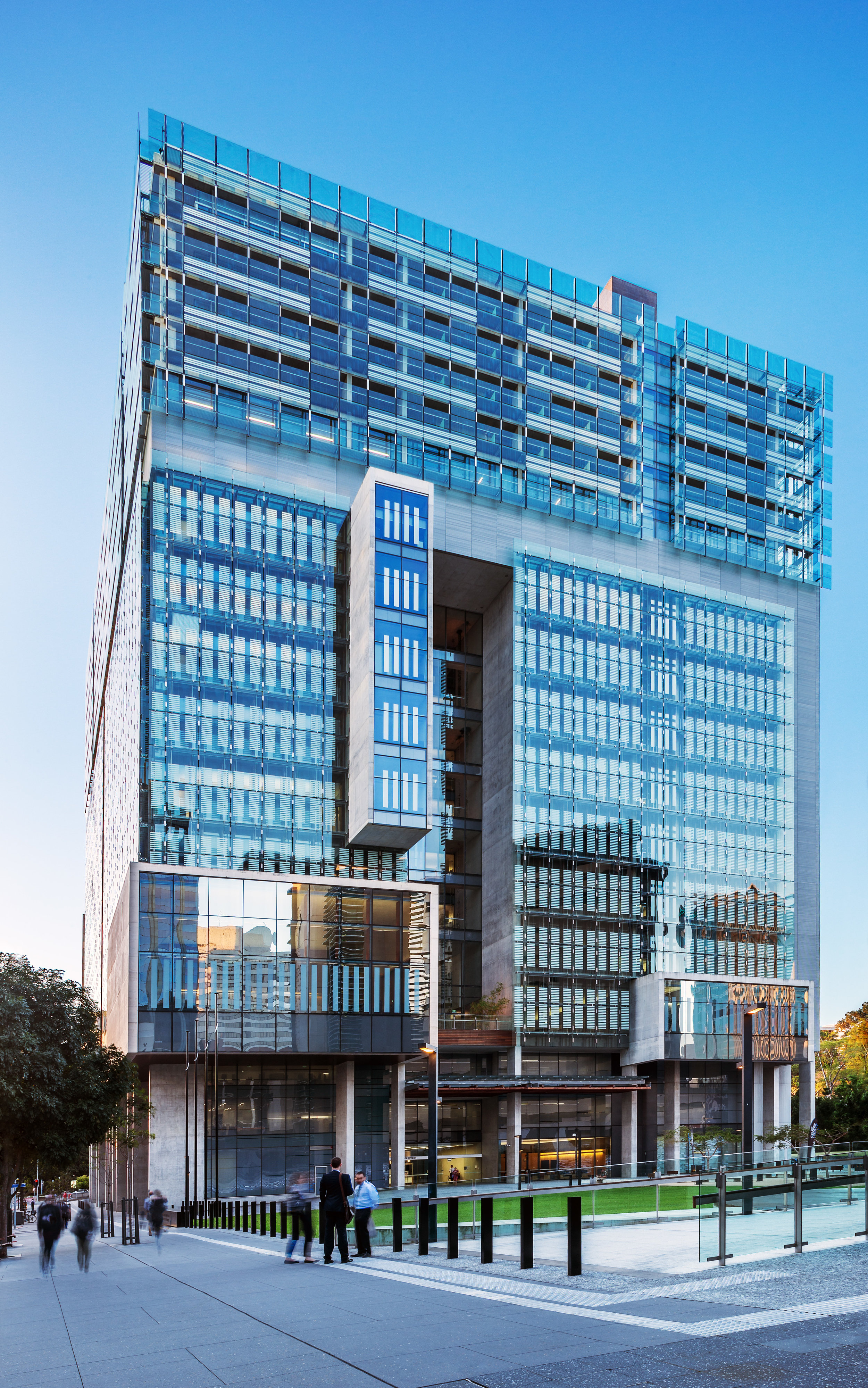 The Queen Elizabeth II Courts of Law / Architectus / Brisbane