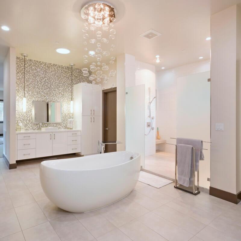 ktj-design-co-master-bathroom-his-vanity-freestanding-tub-bubble-chandelier