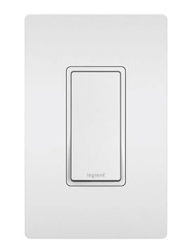15A Single Pole Switch white-legrand-radiant-collection