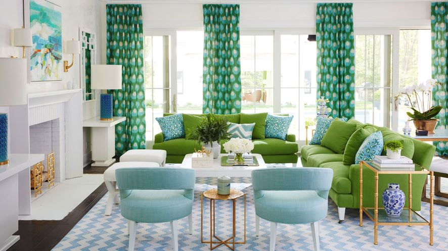 image //  https://www.coastalliving.com/homes/decorating/our-favorite-green-rooms