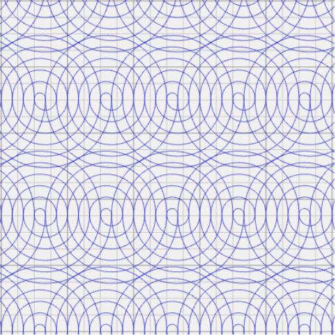 Water Drop Circles