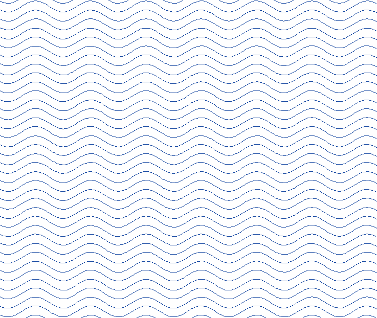 Smooth Wavy Lines