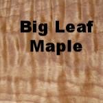 Big Leaf Maple Slabs