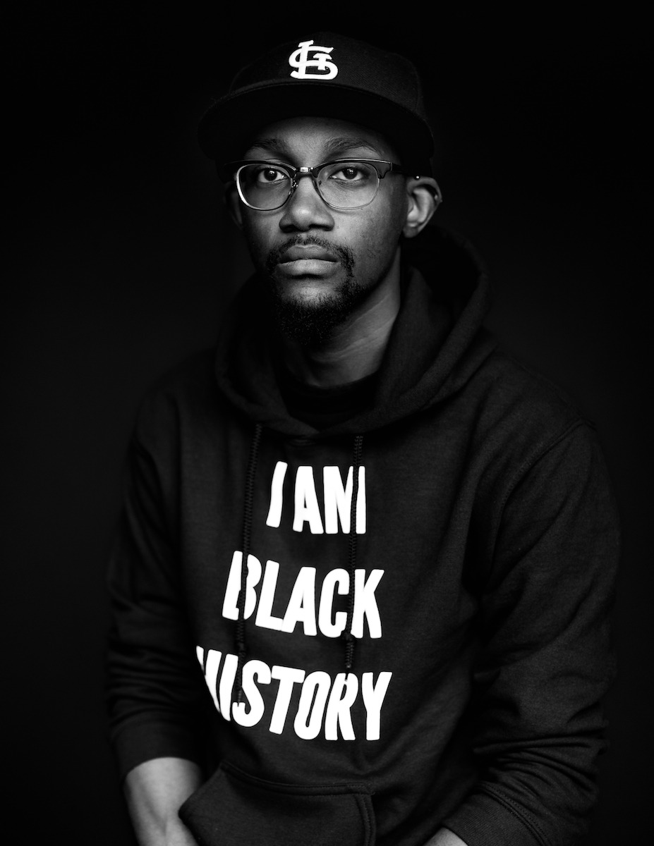 """""""I'm reminded every day how important my voice is, as a Black gay man, a St. Louisan, a Millennial,and as an American. I'm an advocate for people whose voices have been silenced. My life and voice matters. I matter!I want Black youth to know that as well!"""" - Larry Fellows  (@GeekNStereo on Twitter)"""