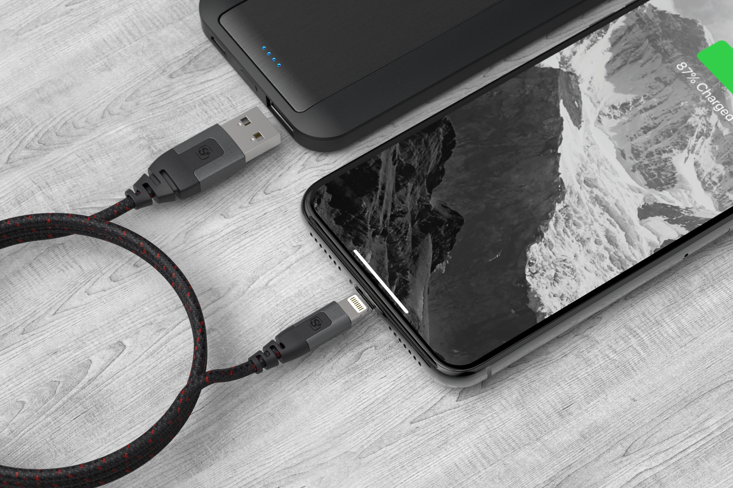 CONNECTIVITY - Sync/Charge Tangle-Free Ultra-Durable
