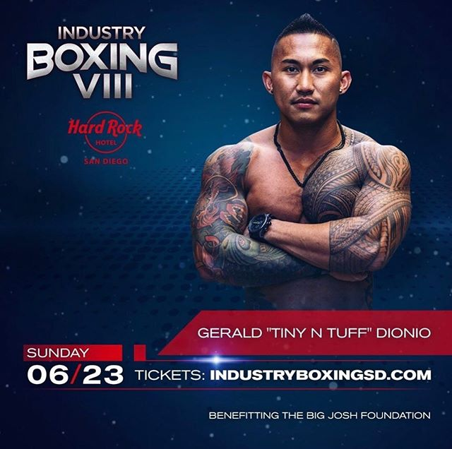 Proud to announce our athlete, @tiny_n_tuff ,is going to throw down in the ring on 6/23! You don't want to miss this San Diego! DM for tickets and Details! Happy Friday #boxing #sandiego #sdca #sandiegofitness #dtsd #highpowermassage #gaslamp #hardrocksd