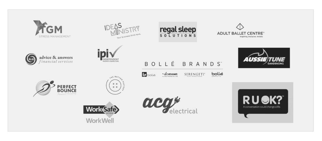 We work with many people to deliver better workplaces. These are a list of the companies we regularly work with. Shows logos/icons. Workplace Relationships customers and partners.