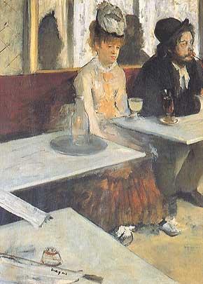Edgar Degas, L'Absinthe, 1875-76