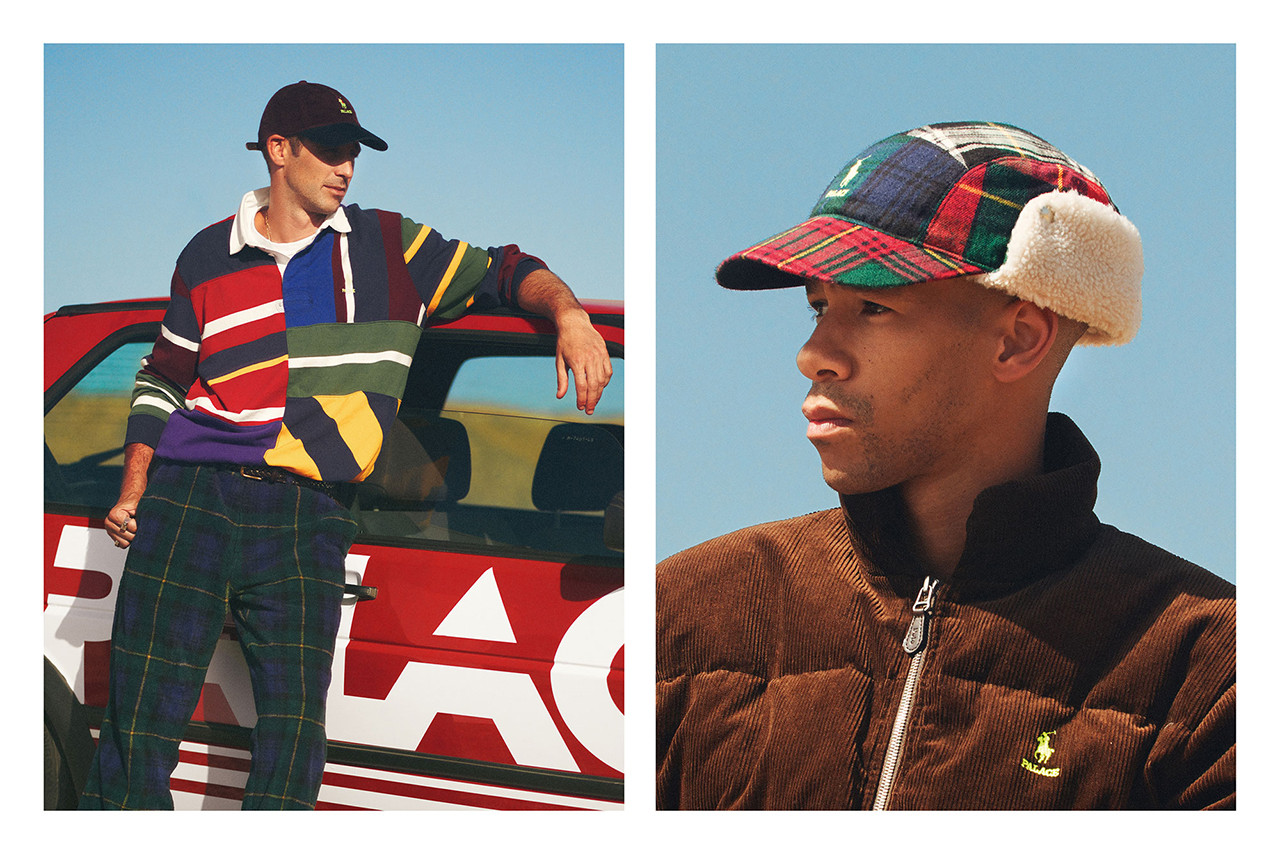 Palace and Polo Ralph Lauren Collaboration, 2018