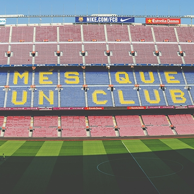 Sports Tour Barcelona - For those who loves Sport we offer the Sport Tour visiting:👉F.C. Barcelona Stadium👉Montjuic Hill with the Olympic Ring (olympic Stadium, swimmingpools, Telecommunication tower of Santiago Calatrava).El Barça it is without any doubt one of the big soccer teams in Europe. In our tour we will visit the magnificent museum and also the Stadium with the changing room, the chapell, the press area and of course the Stadium itself.