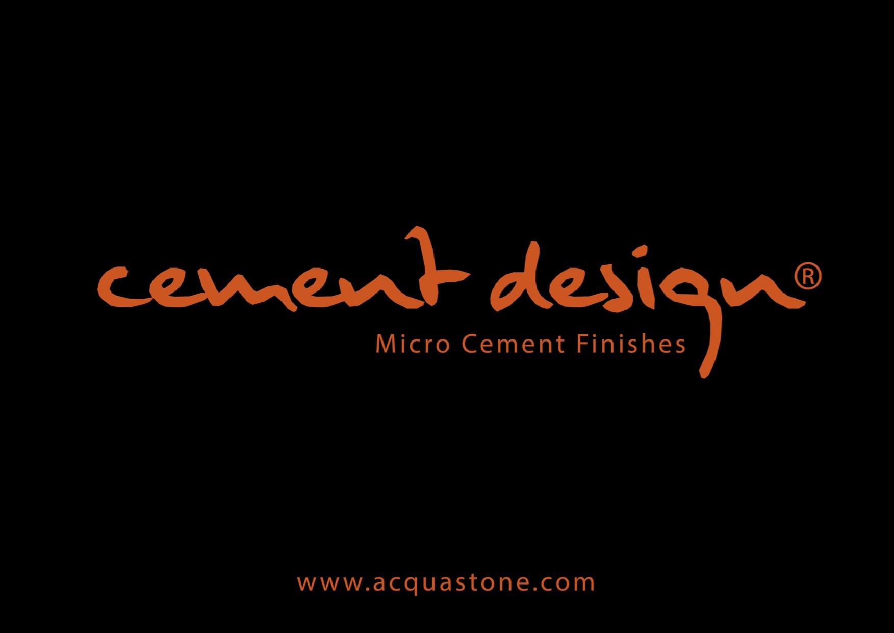 Micro Cement Finishes - By Acquastone