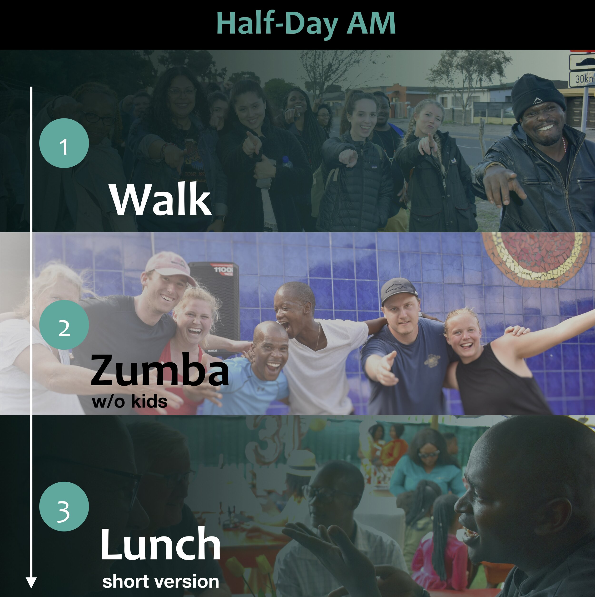 Half-Day AM - Walk > Zumba > Lunch - Blend the City Tour Summary Cover Pic (crop 2)