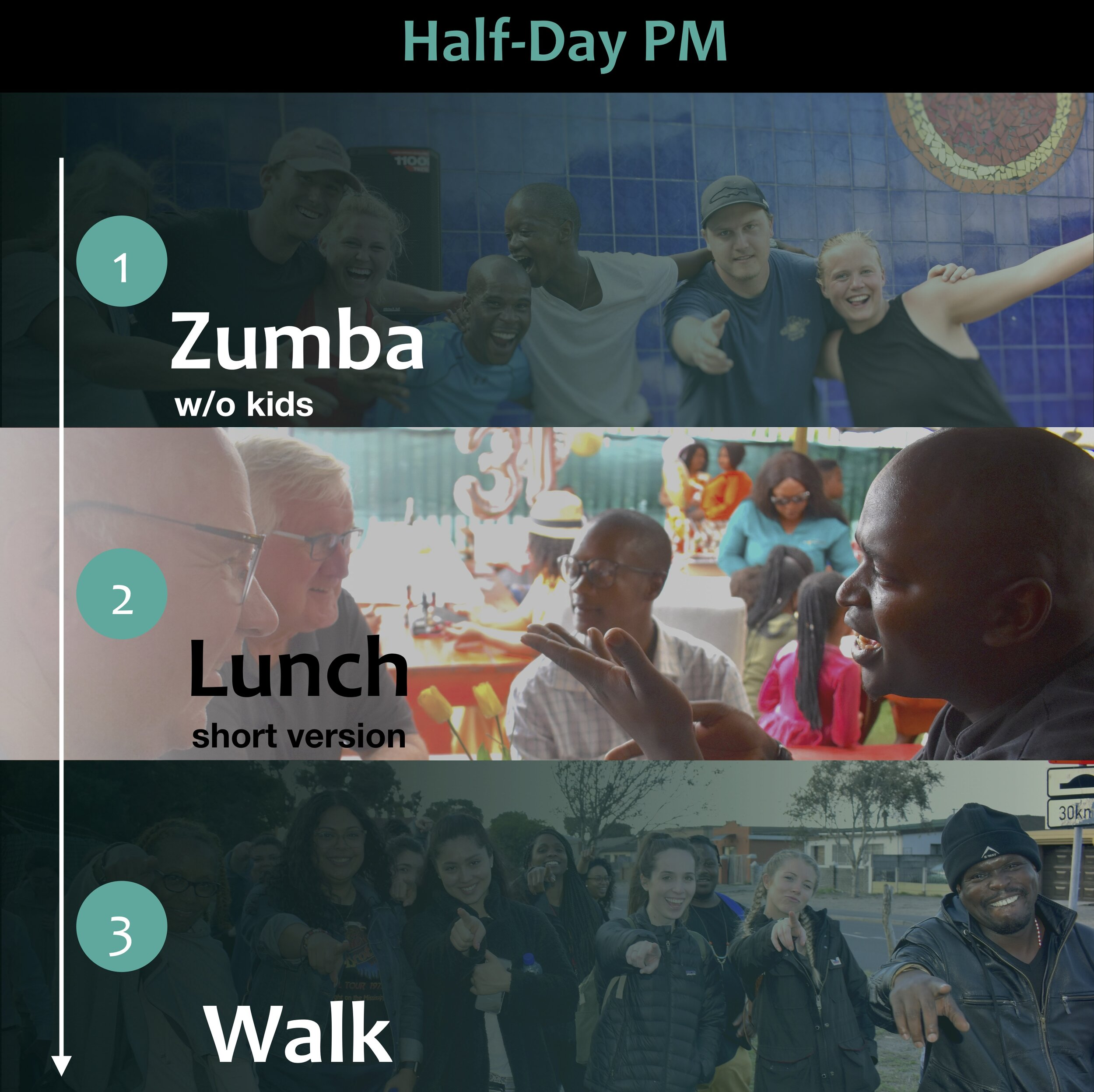Half-Day PM - Zumba > Lunch > Walk - Blend the City Tour Summary Cover Pic (crop 2)