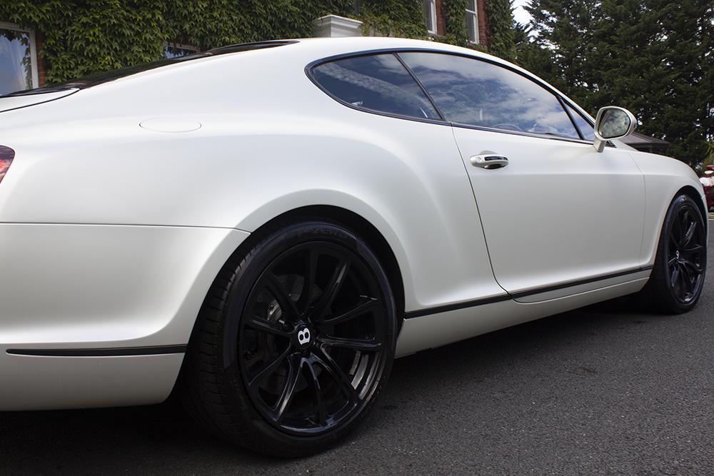 white wedding car Dublin