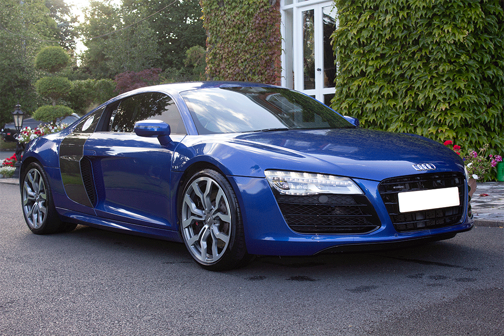 Audi R8 for rent