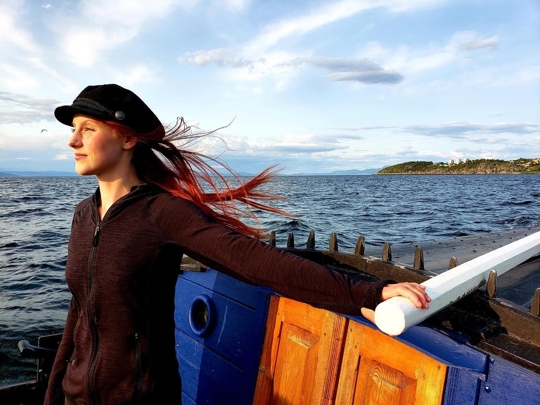 AMANDA - Ei båtjente som er klar for å erobre både elv og fjord med dere!