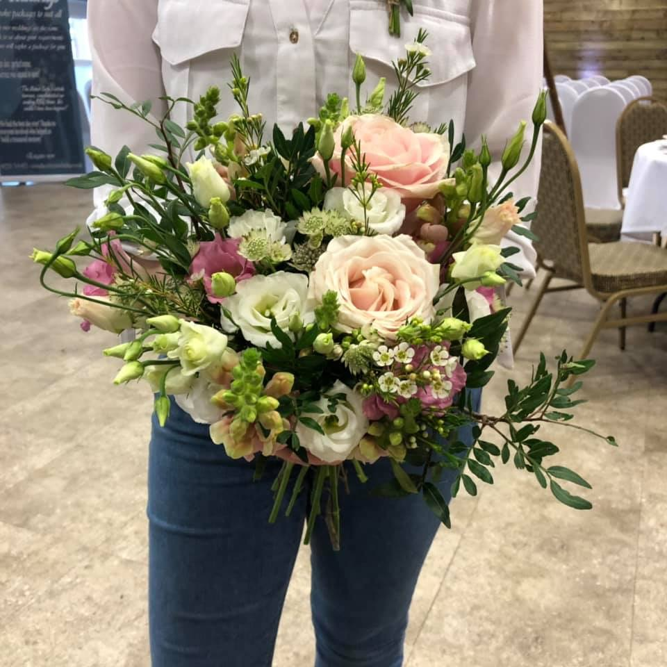 Check out this beautiful bouquet created by Clair, you can follow her journey on instagram at  @violetandivyeventstyling