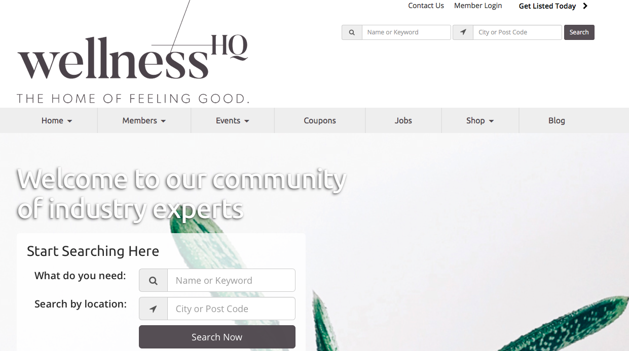 Coming soon… - Get ready for the launch of Wellness HQ's Hello Hub, where you can search local wellness professionals