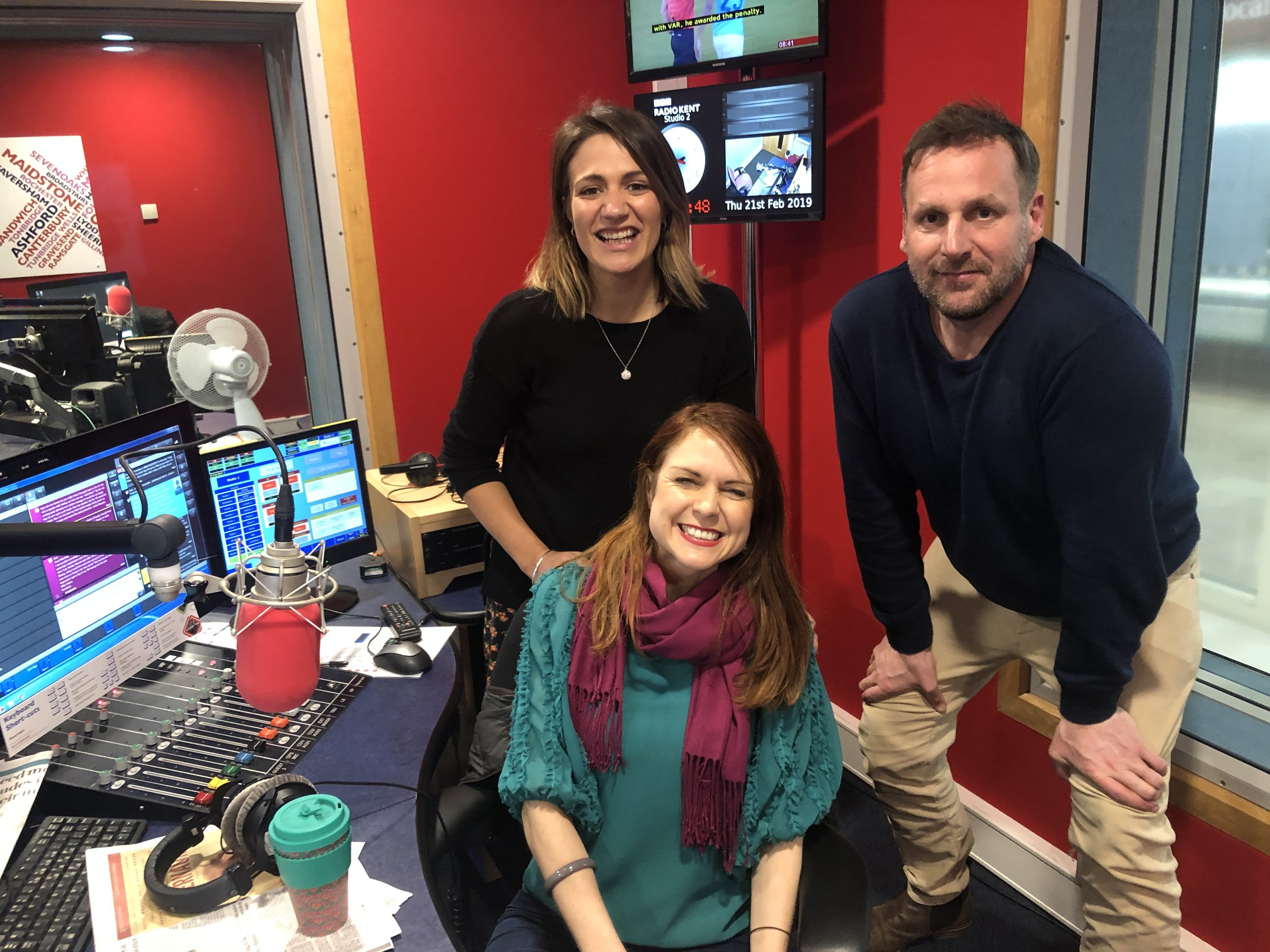 Wellness HQ at bbc radio kent - Our monthly slot on the Breakfast Show