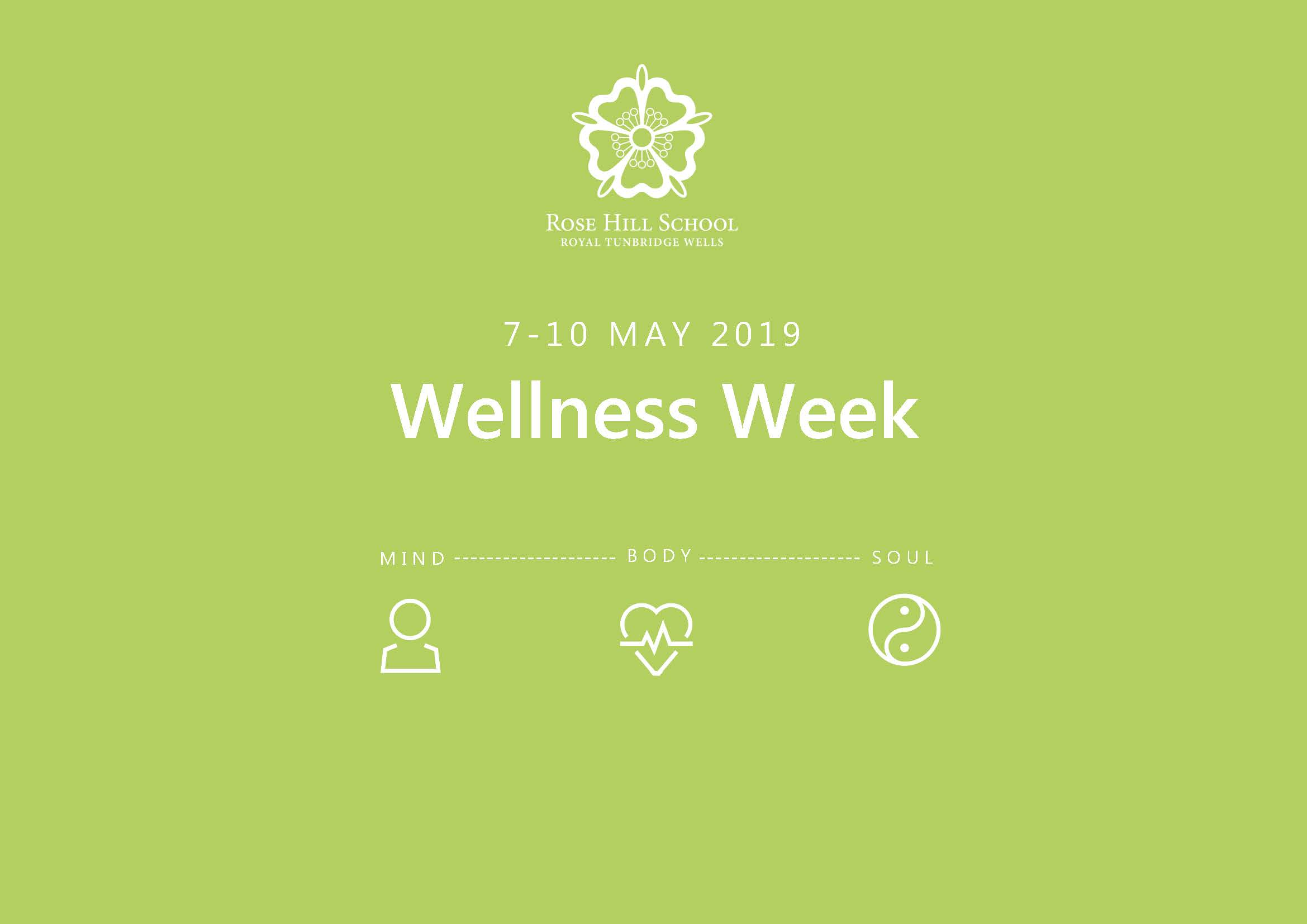 WELLNESS HQ at ROSE HILL SCHOOL - We were delighted to have led Rose Hill School's Wellness Week where our members ran a series of workshops to parents, staff and pupils