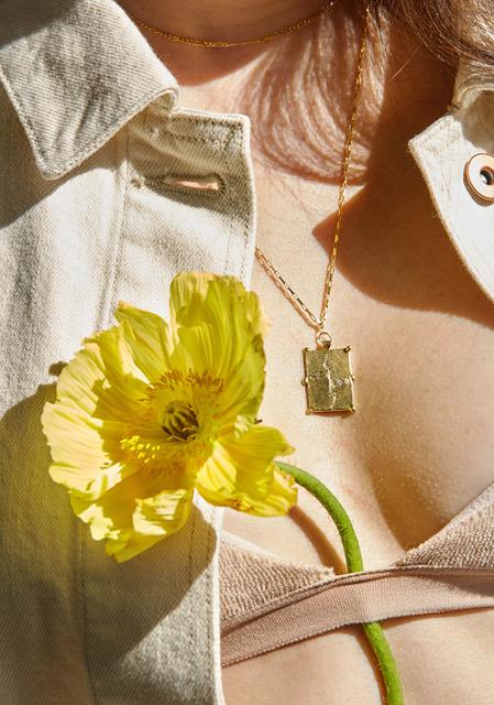 Padma necklace gold ethical jewellery yummy yoga girl.jpeg