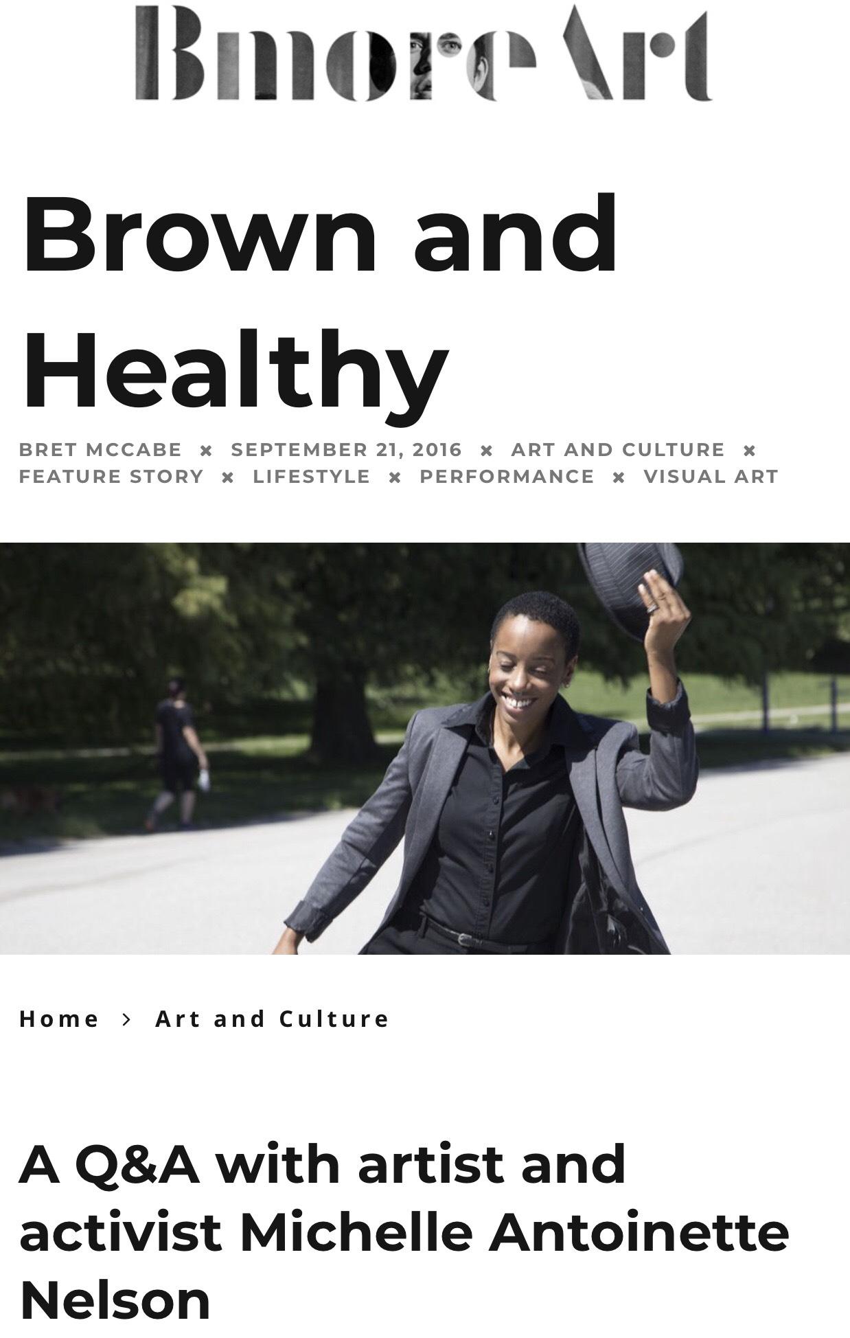 Bmore Art Magazine -