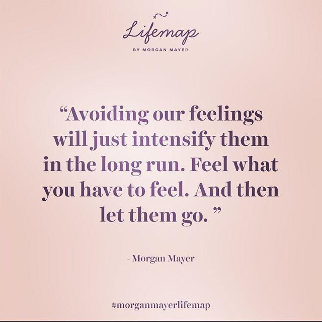 You will eventually have to face your feelings, no matter who you are and no matter how fast you can run 🏃🏻♀️ . . . You can run from them as much as you want but eventually you are going to have to face yourself 👁And even though it's scary, it's the best thing you will ever do. Avoidance is a short-term solution that only intensifies them in the long-term 💡 . . Many people are afraid that they will become overwhelmed or that they will break down if they were to face their burried emotions. . . . And you might! I sure did. I broke down. But it was only for a MOMENT: it passed. Everything is temporary: especially pain. I didn't break. I just bended ✨and it was the best thing I ever did. My breakdown was the scariest thing imaginable for me and I had been avoiding this fear for as long as I can remember. . . All of my life was lived in the fear of breaking down. This was what I was constantly running away from. And you know what? It happened. And guess what? It sucked in the moment. A lot. BUT then it passed. Everything passes. Always. Sometimes the best gift life can give you is for your worst fear to come true. Then you get to see that: . . . 1) it's not as bad as you made it up to be. . . 2) you survived it. . . All of our experiences can break us or make us stronger. It's up to you to decide what you will make of them. Stop running and start facing. Release your old energy so that you can finally focus on the new and on the intentional 👁 . . . . #lifemap #morganmayerlifemap #morganmayer #stoprunning #faceyourself #faceyourfears #beyourown #becomeyourbestself #transformyourlife #heal #healyourlife #lifecoachforwomen #transformyourmindset #mindsetshift #mindsetshifts #womenincoaching #entrepreneurquotes #bestquotesever #bestquotes #mondaymotivation #mondaymotivationquotes #womenentrepreneurs #entrepreneurgoals #createyourlife #createyourdreamlife #counselingquotes #psychologyquotes #psychology #psychologytoday #psychologist