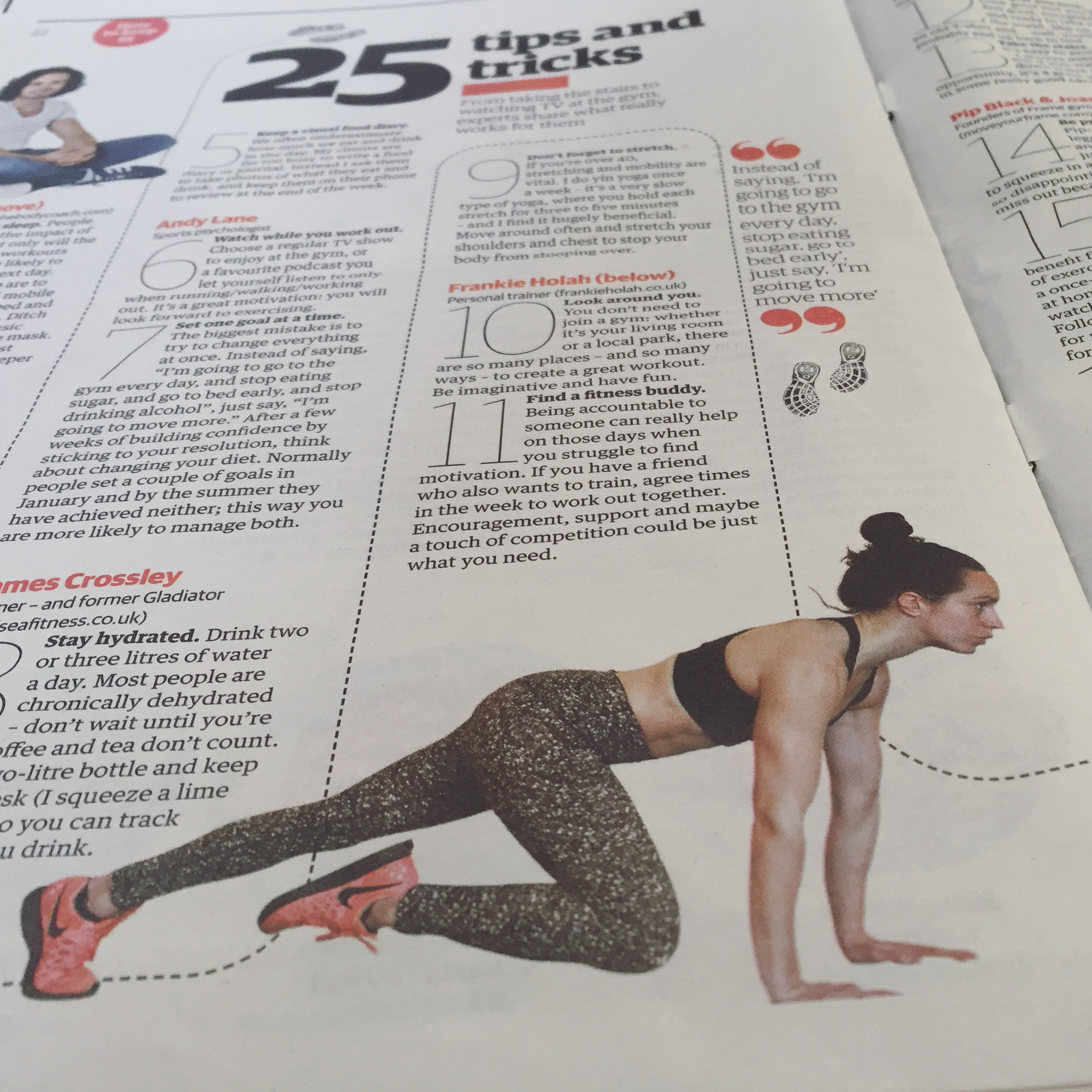 THE GUARDIAN - Top tips and tricks for staying fit. In print and online.READ MORE >>