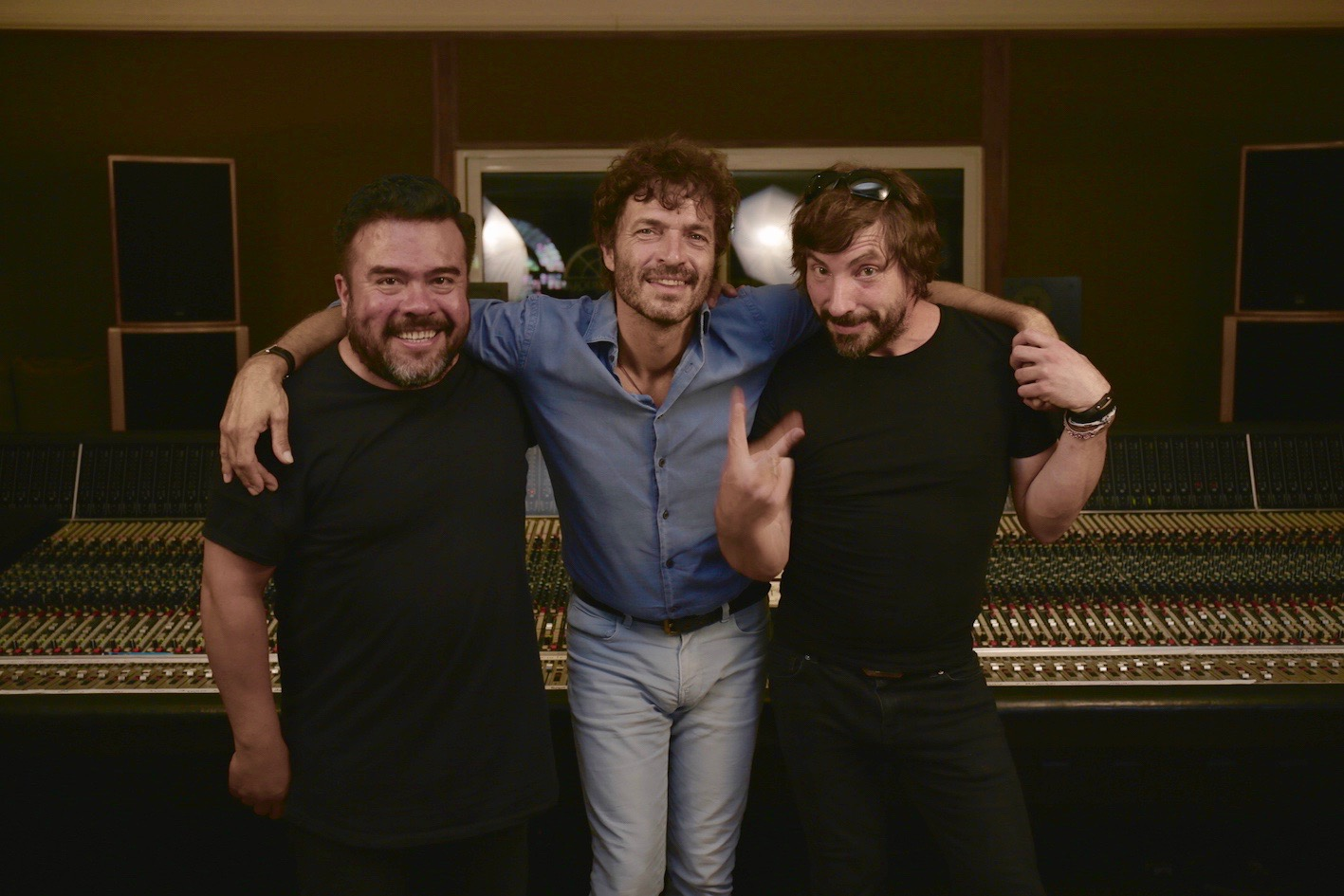 With Peter Warner And Philippe Zdar