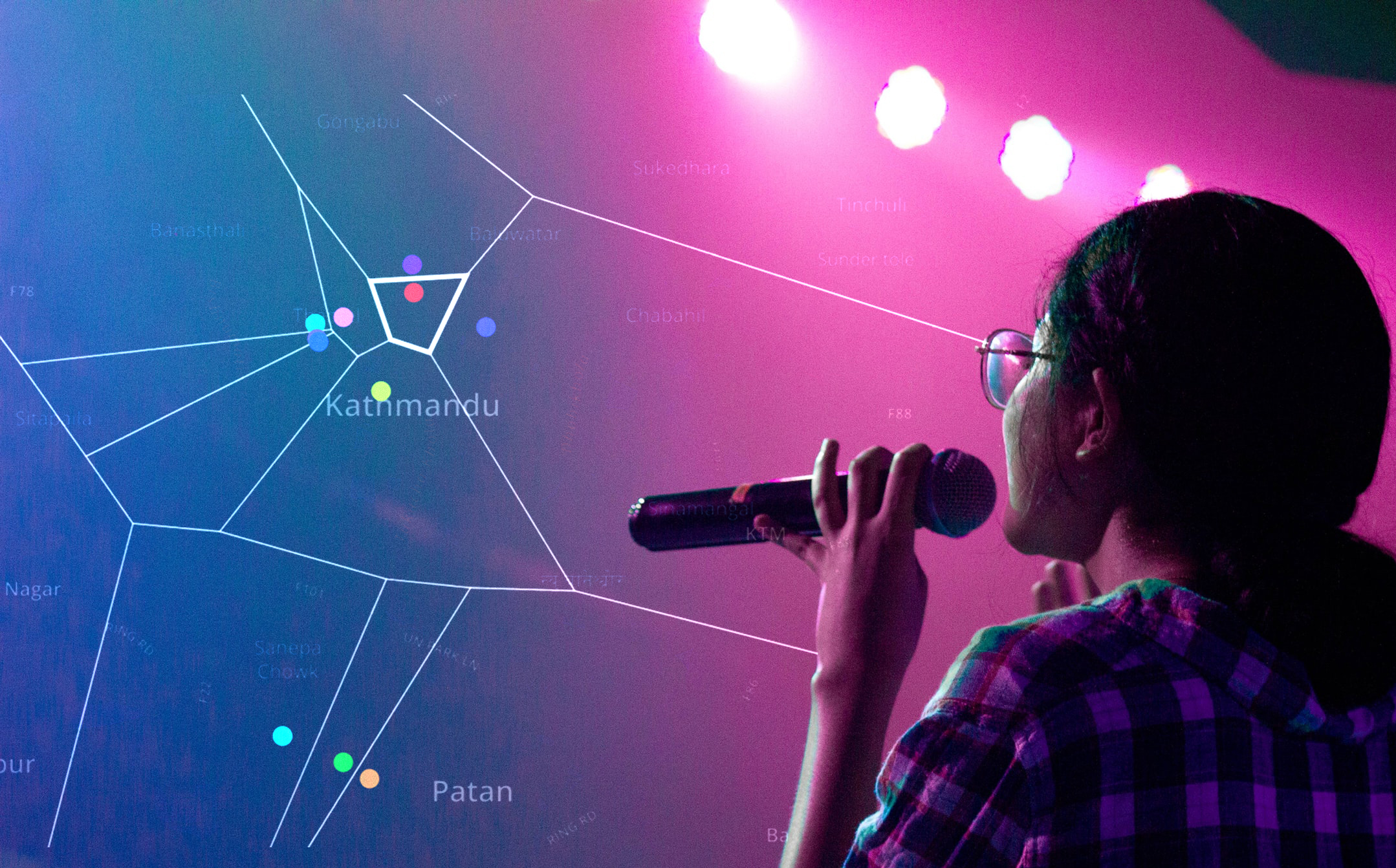 Feasibility Study - Moonlit Solutions conducted an extensive research on Kathmandu's Karaoke industry incorporating questionnaire based survey analysis, Voronoi analysis, competition analysis and sentiment analysis.