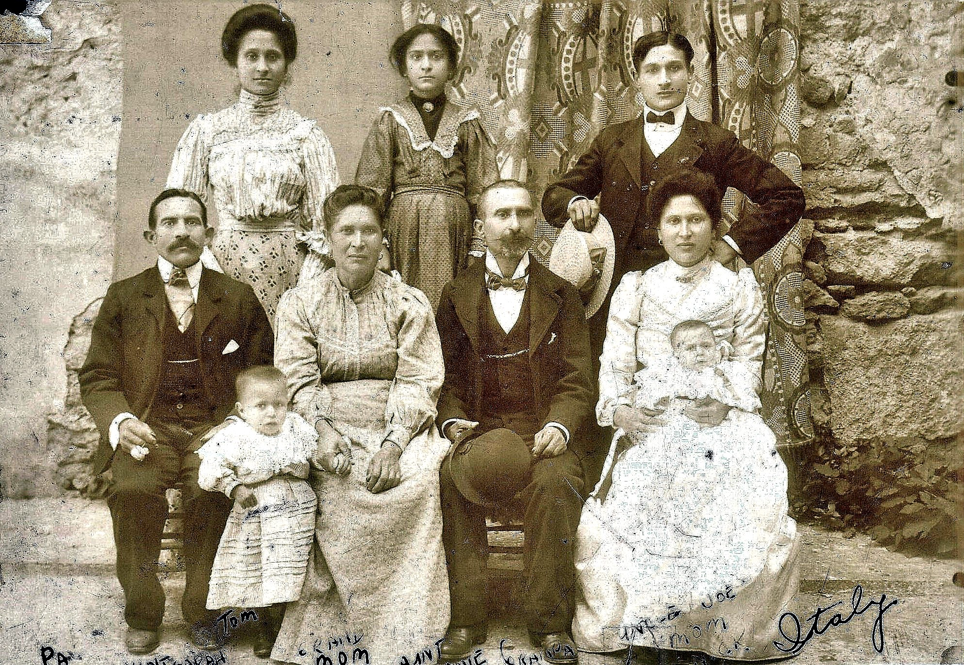Spina, Nicolo and Family (Chicago)