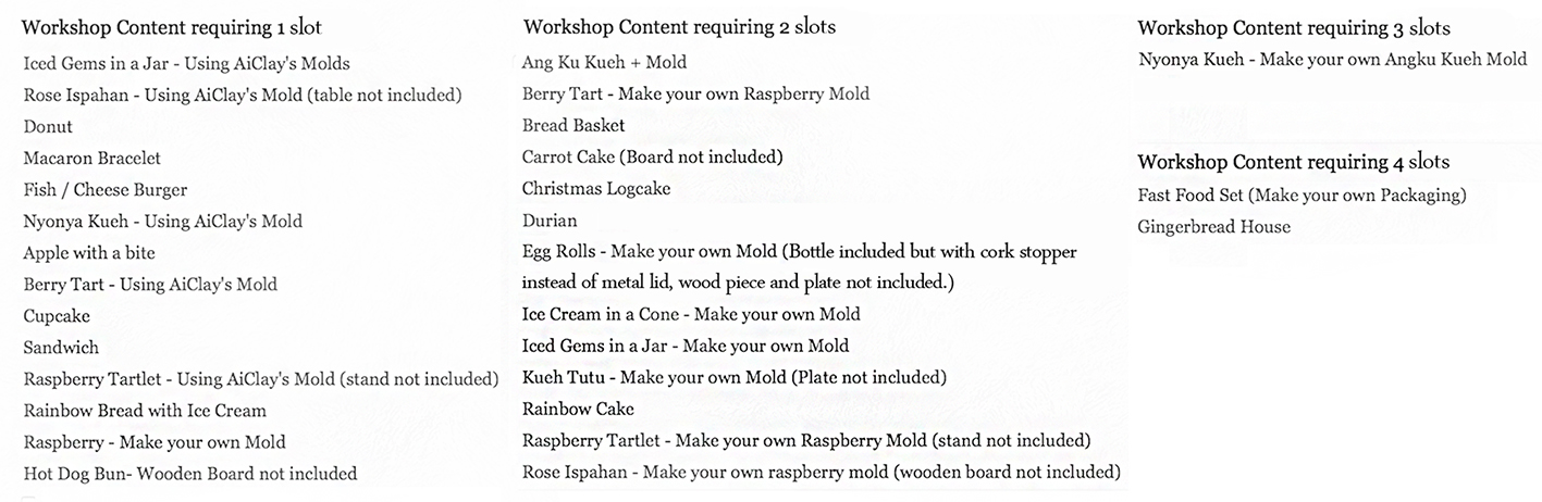 squarespace website one to one workshop list.jpg