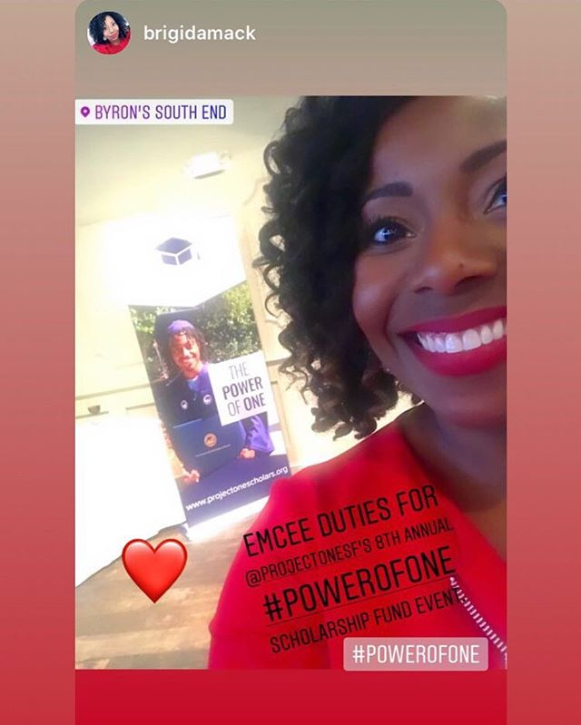 Many thanks to @brigidamack for hosting tonight's #powerofone event! A huge success! #upwardmobility #charmeckschools #nonprofit #singleparents