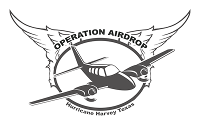 """Operation airdrop - """"Operation Airdrop is a Texas Non-Profit Organization. We were founded in the wake of Hurricane Harvey in 2017. We organize volunteer aircraft owners and pilots to deliver essential supplies to disaster areas in hours, rather than days."""""""