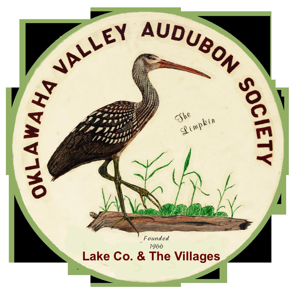 Co-sponsor. Oklawaha Valley Audubon Society