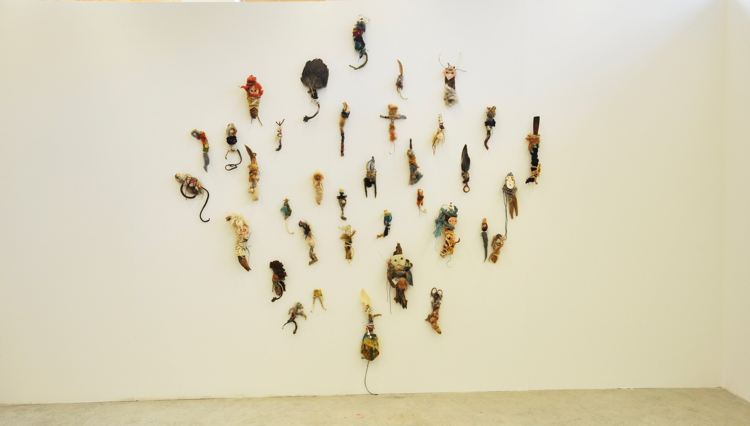 Offerings (sky),   2018   wall installation, dimensions variable