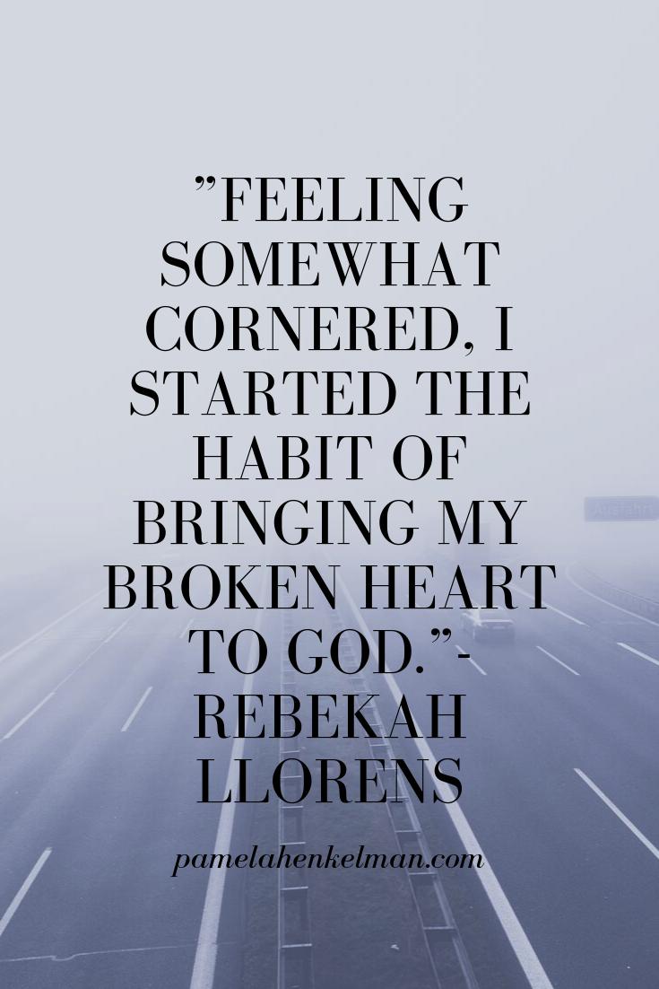 rebekah llorens quote