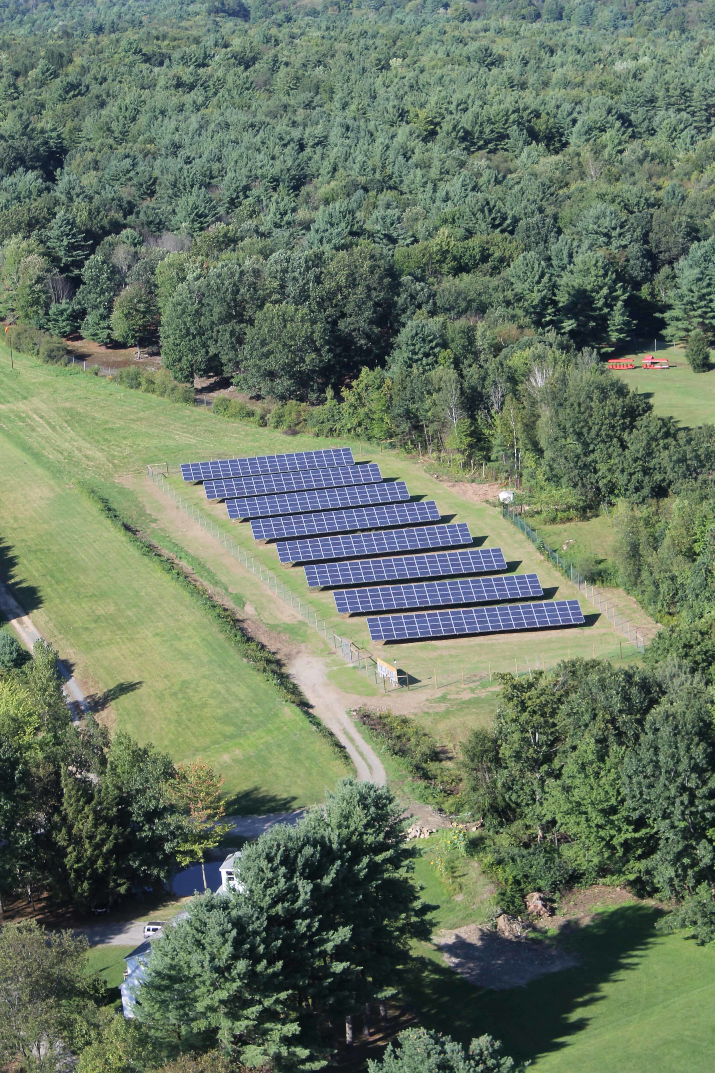145 kW array, Green Mountain Power, Putney VT