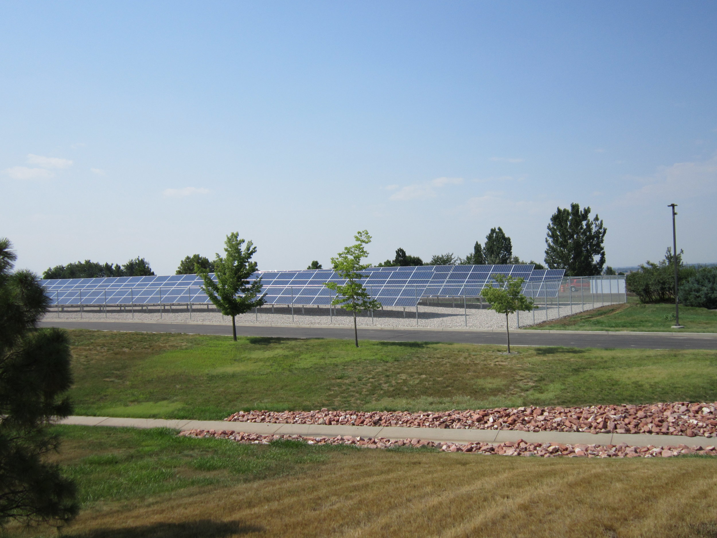 115 kW array, PVREA headquarters, Windsor CO