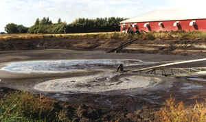 Polluting process