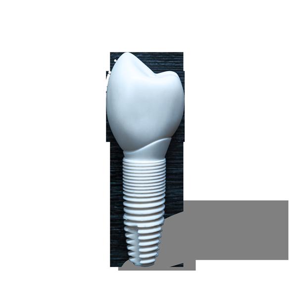 Ceramic implant parts