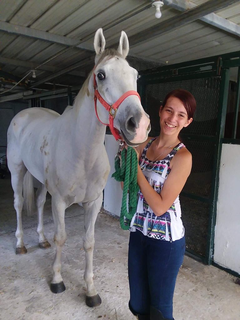 Ariana Rodz - Ariana is a 17-year-old High School student born in Fajardo, PR. She grew up riding and caring for horses. She plans to study Veterinary Medicine at University. She has been volunteering at CTA for 1 year and her compassion, experitise, and skills have been a great asset to the CTA and all the horses!
