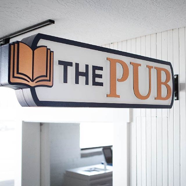 Designed, routed, and hand painted by our artists and craftsman, this sign is made out of HDU material, a popular material for signs with fine detail and varieties of thicknesses.