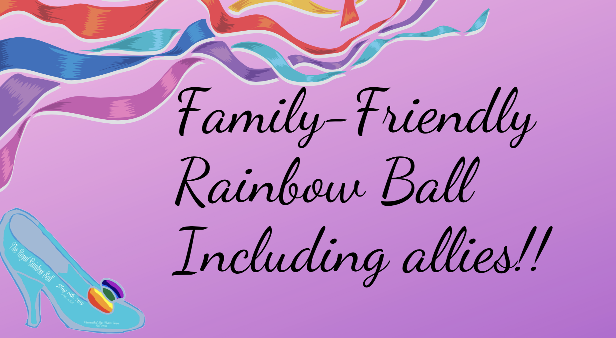 Family Friendly Rainbow Ball