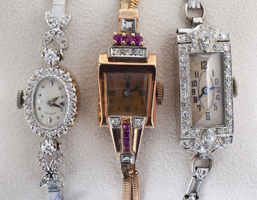 Vintage Ladies Art Deco Watch