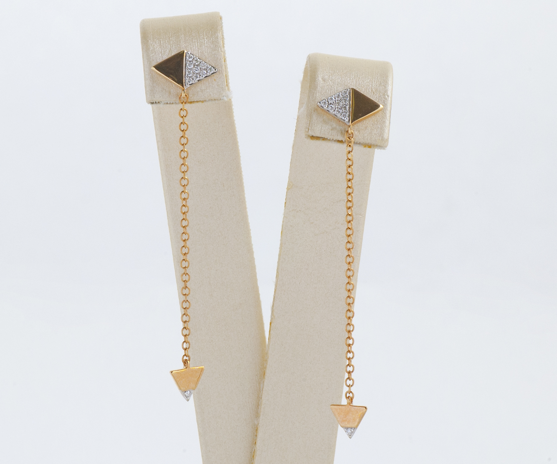 modern arrow earrings