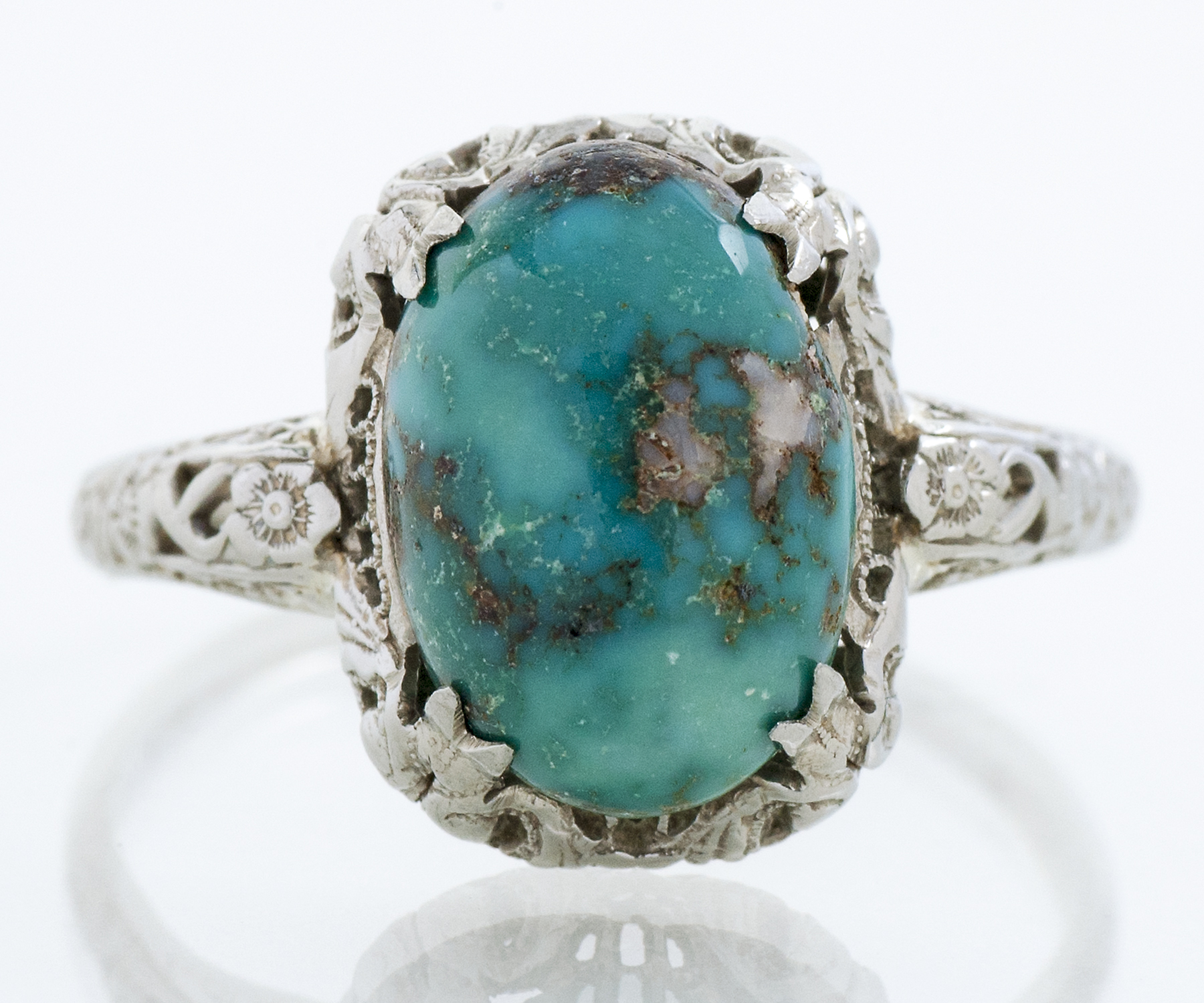 Turquoise Filligree